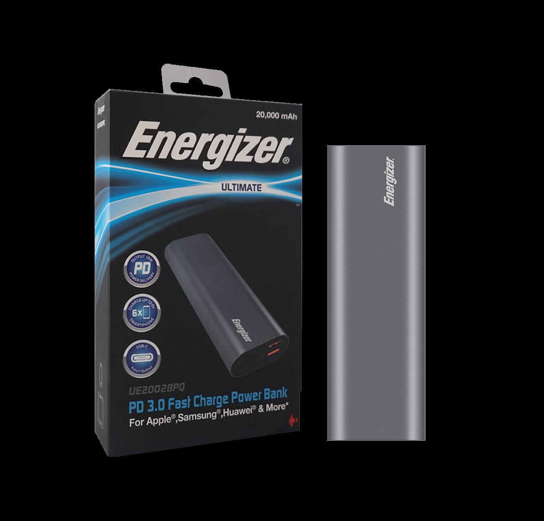 Sạc dự phòng Energizer 20,000mAh 3.7V Li -Ion - UE20028PQ